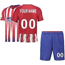 4dbf985b1 Camiseta de fútbol Personalizada y Pantalones Cortos 2018-2019 Nueva  Temporada