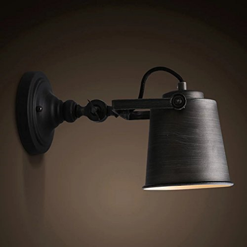 Vintage Industrial Wall Lamp Black Art Wall Sconce Decorative Light Adjustable Swing Arm Wall Lights Buy Online In Burkina Faso At Burkinafaso Desertcart Com Productid 57647057