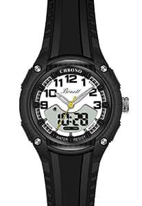 Bonett Jungen - Armbanduhr Analog Digital Chronograph Kautschuk 1280H