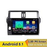 10,1 Zoll 2.5D IPS Android 8.1 Auto DVD GPS für Toyota Prado 150 Land Cruiser 2014 2015-2017 Headunit Audio Radio Stereo Navigation