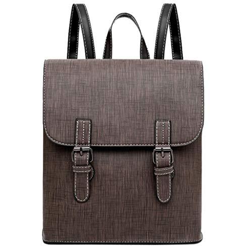 friendGG Neue Mode Neutral Einfarbig UmhäNgetasche Rucksack SchüLer Schule Reisetasche UmhäNgetaschen Schultertaschen Rucksack Taschen Handtaschen Tasche