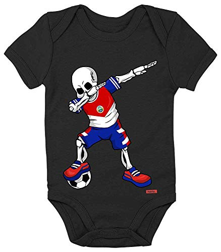 Rico Pinguin Kostüm - HARIZ Baby Body Kurzarm Fussball Dab