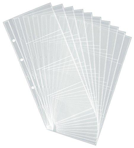Durable 238719 Visitenkartenhüllen (für 2383/2385) Beutel mit 10 Stück transparent
