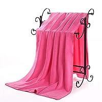 brandyjacksonq Travel Bath Towel Microfibre Swim Dry Beach Towel Home Decoration (Rosy)