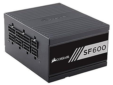 Corsair CP-9020105-EU SF Series SF600 SFX Voll Modular 80 Plus Gold 600W Netzteil EU