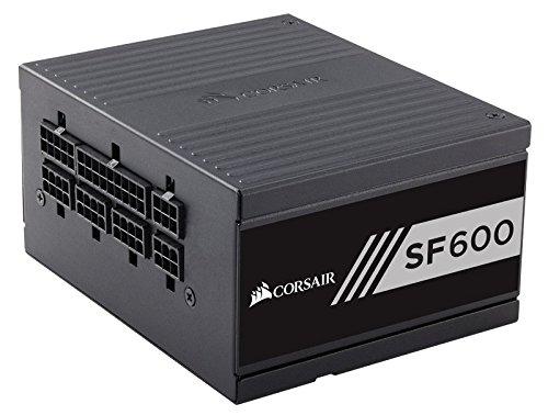 Corsair SF600 Alimentatore PC, Completamente Modulare, 80 Plus Gold, 600 W, EU