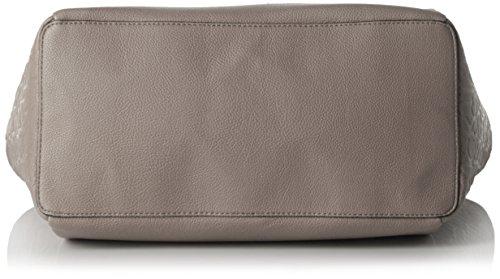 Calvin Klein Jeans Mish4 Large Tote, Sacs portés main Gris - Grau (FUNGI 094)