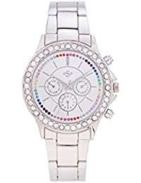 Spirit Ladies Analogue Round Silver Dial With Silver Bracelet Strap ASPL101X