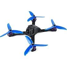 DroneAcc TA535-XS 220E Carbon Fiber Quadcopter de 4 mm de espesor Capítulo con placa de distribución de AP XT60 5V 12V de salida para competir con aviones no tripulados Quadcopter