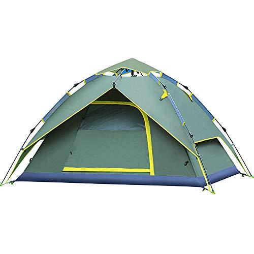 FFJJQAN Outdoor leichtes Pop Up Wurfzelt 1-4 Personen Zelt Camping Festival Sekundenzelt, Pop Up Familienzelt Wurfzelt Zelt Camping Festival -