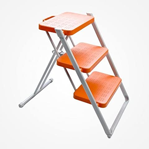 nuovastep–Sgabello pieghevole, arancione, structure gris