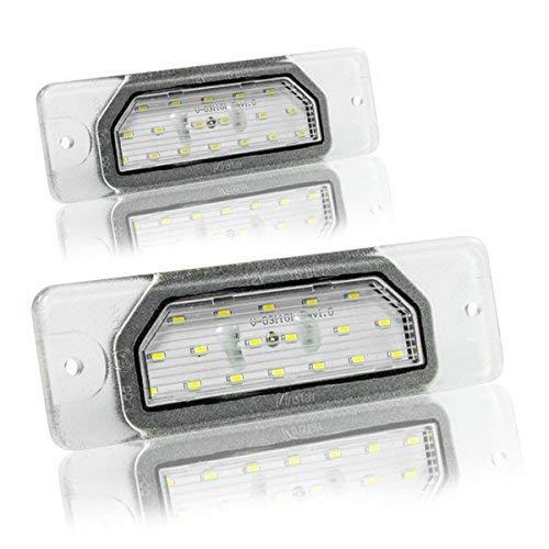 LED Kennzeichenbeleuchtung Canbus Module mit E-Zulassung V-031101