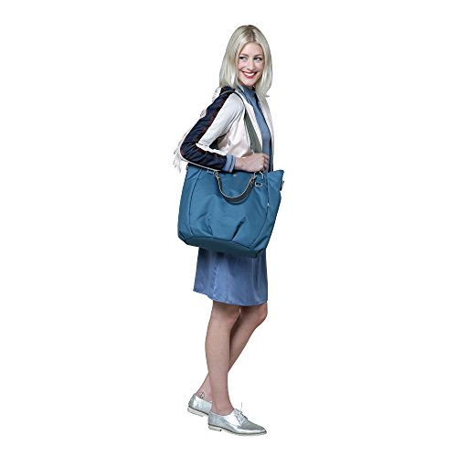 Lässig 1101002403 Wickeltasche Green Label Mix 'n Match Bag, ocean blau -
