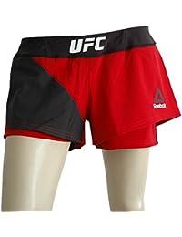 Reebok Women's Ufc Fk Octagon Blank Shorts