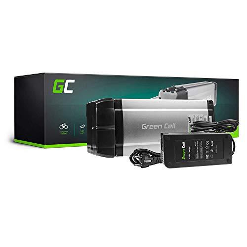 GC® Batería E-Bike 24V|8.8Ah|211Wh Rear Rack para Bicicleta Eléctrica con Celdas Panasonic y Cargador