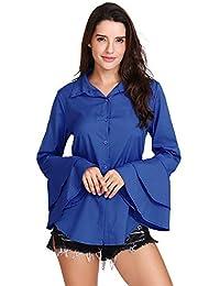 5b21582f98 Amazon.it: campana - XL / Bluse e camicie / T-shirt, top e bluse ...