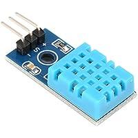 Módulo de sensor de humedad y temperatura digital MXECO DHT11 para Arduino con placa de cables Dupont para herramienta electrónica de bricolaje Arduino