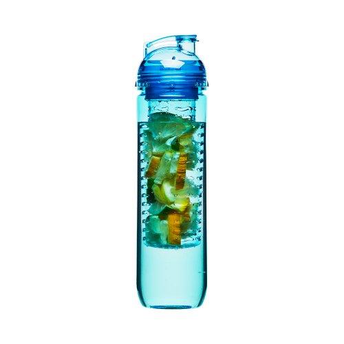 Sagaform SA5016673 Gourde avec infuseur à fruit Bleu