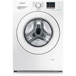 Samsung WF70F5E0W2W freestanding Front-load 7kg 1200RPM A+++ White washing machine - washing machines (Freestanding, Front-load, White, Left, White, Buttons, Rotary)