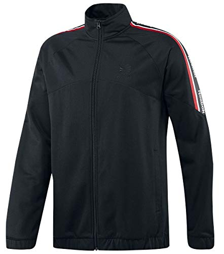Reebok Herren F Franchise Tracktop Jacket, Black (schwarz), M