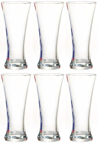 ritzenhoff-breker-coctel-de-6-vasos-sunrise-cristal-juego-de-380-ml-cristal-transparente-juego-de-6-