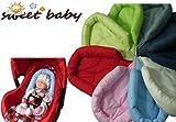 Sweet Baby ** SOFTY NewBorn ** Auto-Sitzverkleinerer/Kopfstütze für Baby-Autositz (Rose)