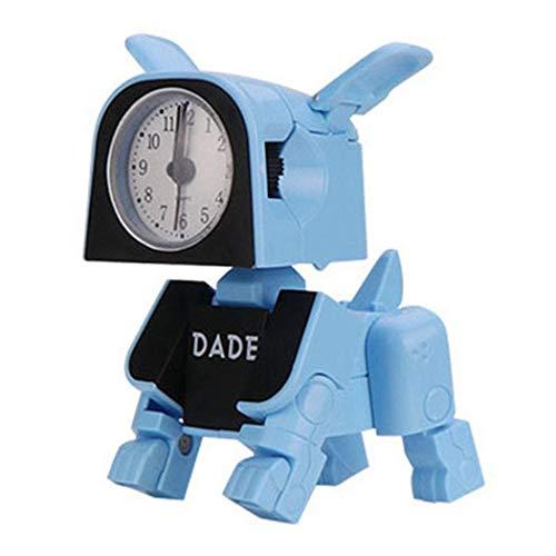 Kaimus Spielzeug für Kinder, niedlich, elektronischer Wecker, tragbar, Pendel und Uhren