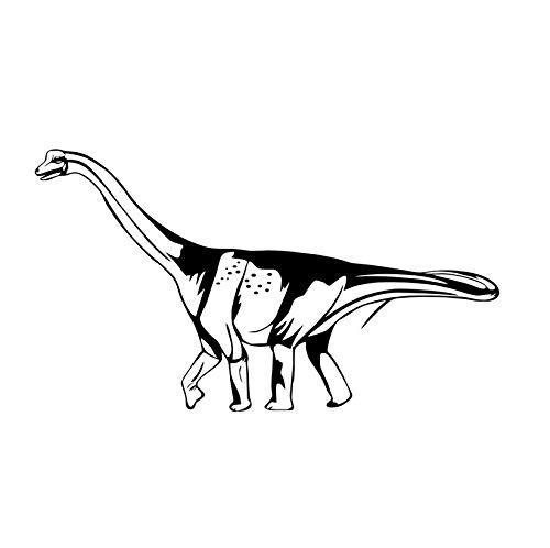 mzdzhp Wandaufkleber [mzdzhp]Hohe qualität dinosaurier stick auf diy wandaufkleber für kinderzimmer aushöhlen abnehmbare vinyl aufkleber poster wandkunst wohnkultur 103 * 58 cm -