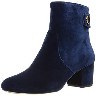 NINE WEST Women's Quarryn Fabric Ankle Boot 1
