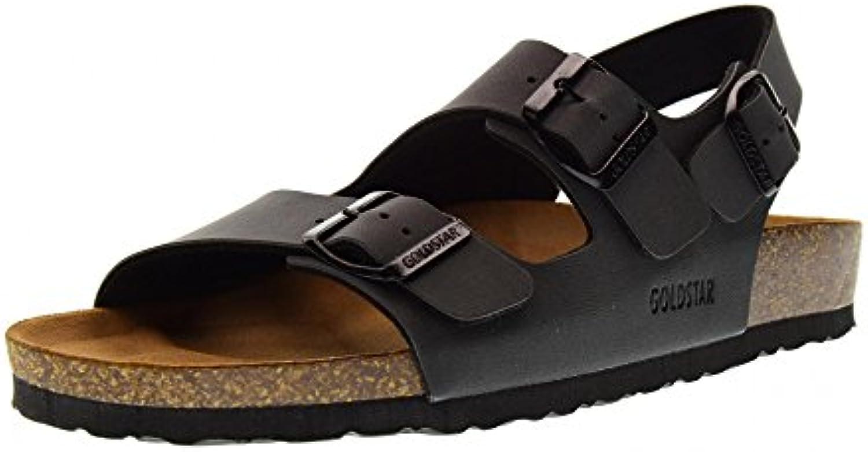 GoldStar Schuhe Herren Sandalen 9910 SchwarzGoldStar Schuhe Herren Sandalen Schwarz Billig und erschwinglich Im Verkauf
