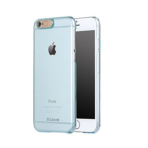 Couverture ultra-mince Luminous Transparent Protection Shell PC Clear Case pour iPhone 6 Plus 6s plus Transparent