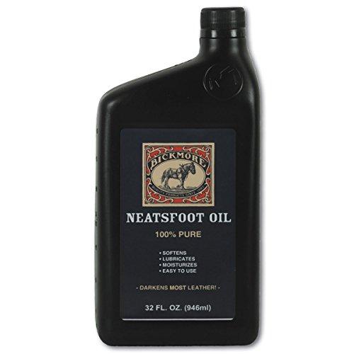 Bickmore Neatsfoot Öl 32oz- Weich, schmiert und befeuchtet Leder, funktioniert Hervorragend als Baseball Handschuh - Conditioner Weichmacher