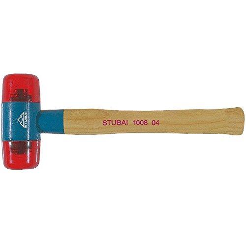 Stubai 100802 Schonhammer rot 27 mm,