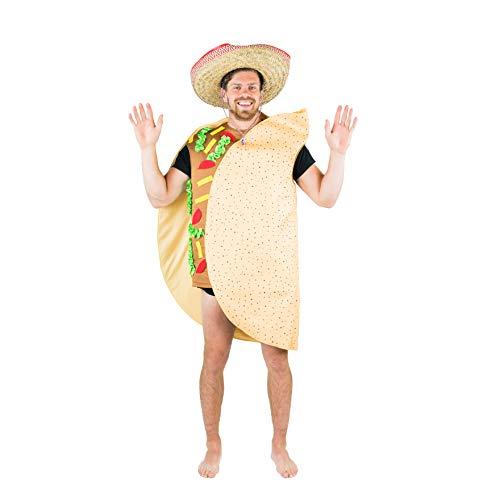Kostüm Für Erwachsene Sandwich - Bodysocks Taco Fancy Dress Costume (Adult)