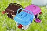 Komener Tragbare Hamsterkäfig Outdoor Reisen Breathable Plastic Small Pet Carrier Aquarium Ornament