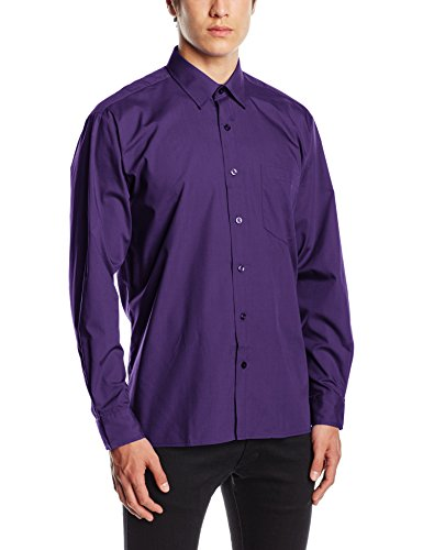 premier-workwear-poplin-long-sleeve-shirt-camicia-uomo-purple-xxxx-large
