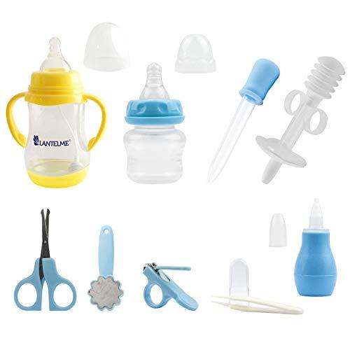 Lantelme Baby Erstlingsausstattung Set Babypflegeset Babyflasche Babynessessär Geschenkidee 5970