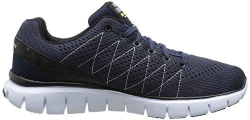 Skechers Skech-flex, Sneakers basses homme Bleu - Bleu (bleu marine)