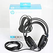 Gaming Headset HP H100 Esports Gaming Headset With Mic (Black) Connector Size - 3.5 MM Audio Headset Computer