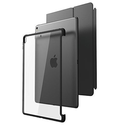 i-Blason iPad Pro 10,5 Hülle, Kratzfest Schutzhülle Transparent Hard Case Back Cover für Apple iPad Pro 10.5 [Kompatibel mit Smart Cover und Smart Keyboard], Schwarz (Ipad Smart Cover Schwarz)