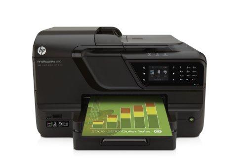 HP Officejet Impresora multifuncional HP Officejet Pro 8600 con conexión web - Impresora multifunción (De inyección de tinta, Copiar, fax, Imprimir, Escanear, Copiar, fax, Imprimir, Escanear, 18 ppm, 13 ppm, 1200 x 600 DPI) (importado)