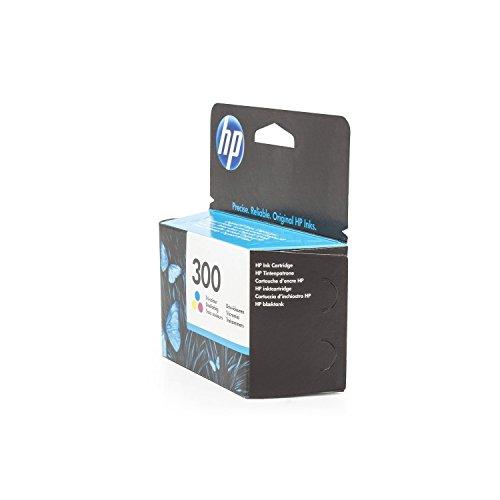 Original HP CC643EE / 300, für DeskJet D 2600 Series Premium Drucker-Patrone, Cyan, Magenta, Gelb, 165 Seiten, 4 ml - Drucker-tinte 2600 Hp Series