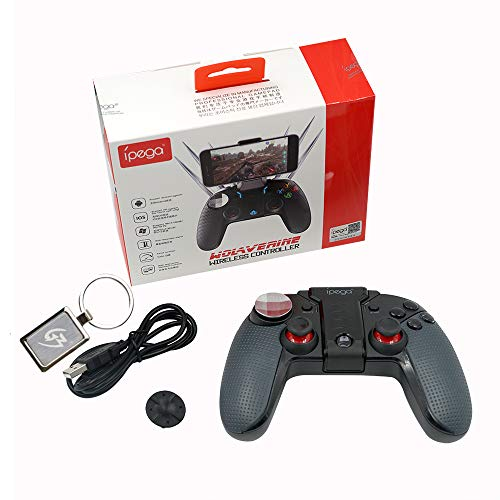 Mcbazel iPega PG-9099 Wireless Gamepad Controller Dual Motor Turbo LED Light Key Joystick Teleskopfunktion Joypad für Android 6.2 Zoll Smartphone PC mit Gam3Gear Schlüsselanhänger - Schlüsselanhänger-hardware 1