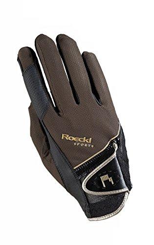 Roeckl Sports Handschuh Madrid, Unisex Reithandschuh, Mokka, Größe 9