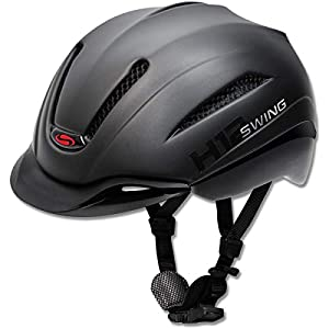 Swing Reithelm H12 Ride&Bike schwarz matt