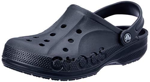 crocs Baya Blk 10126-001, Unisex - Erwachsene Clogs & Pantoletten, Schwarz (Black 001), EU 43/44