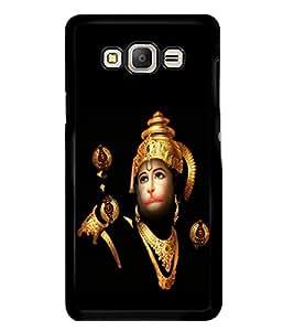 PrintVisa Jai Jay Hanuman High Glossy Designer Back Case Cover for Samsung Galaxy E5 :: Samsung Galaxy E5 Duos :: Samsung Galaxy E5 E500F E500H E500HQ E500M E500F/DS E500H/DS E500M/DS
