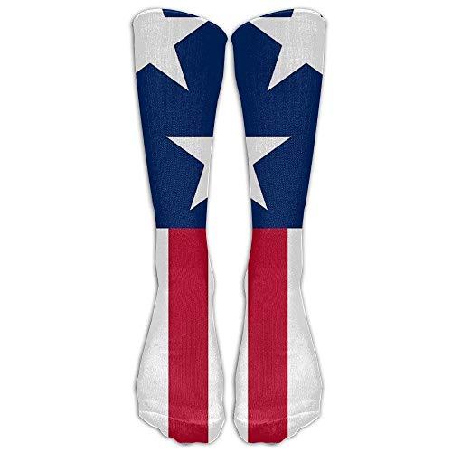 hdgfjhdfjdf Patriotic American Flag Adult Cotton Knee High Soccer Sports Team Tube Socks Long Stockings Athletic Sport Tube Socks