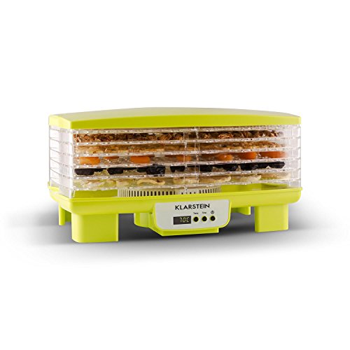 Klarstein Bananarama essiccatore per alimenti con 6 scomparti (550 Watt,