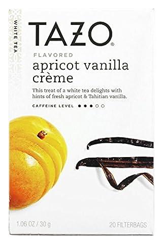 Tazo Apricot Vanilla Creme White Tea -- 20 Tea Bags, Garden, Maison, Jardin, Pelouse, La maintenance